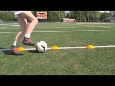 Soccer Cone drills from beginner to advanced