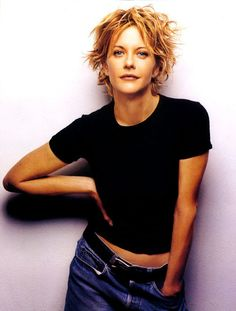 Meg Ryan | Short Shag..I love this cut! wish I was bold enough to try out.
