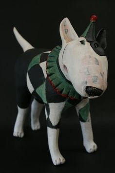 #Bullterrier by Marie Prett - Singing Soul