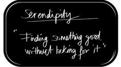 """¿Qué es """"Serendipity""""?"""