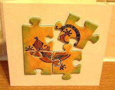 Puzzle card