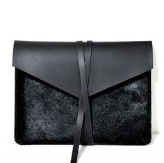 Lenovo X1 Carbon handgefertigt aus schwarzem Leder Case/Holster testieren/Tasche/Hülle Tasche
