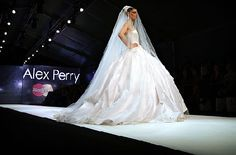 alex perry wedding gown