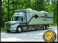 Mobile command vehicle, North Carolina State Highway Patrol