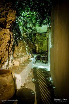 A quite corner at Panagia Faneromeni Monastery. (CC-BY-SA Corner
