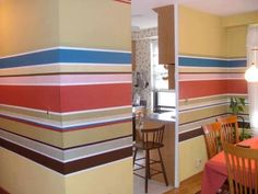 Middle Wall Stripes