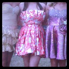 Homecoming / prom dress Worn once. Great condition. Could use some altering Cinderella devine Dresses Prom