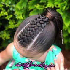 braids braids in 2020 Cute Hairstyles For Teens, Cute Little Girl Hairstyles, Girls Natural Hairstyles, Cool Braid Hairstyles, Easy Hairstyles For Long Hair, Baddie Hairstyles, African Braids Hairstyles, Teen Hairstyles, Natural Hair Braids