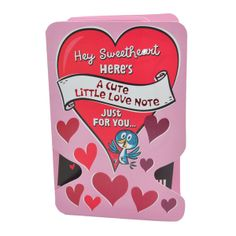 A Love Note Rs. 70.00   Hey Sweetheart,   Here's a cute little love note just for you.