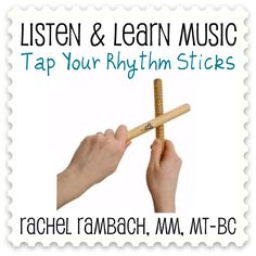 Tap Tap Your Rhythm Sticks song from Listen & Learn Music