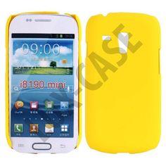 Hard Shell (Gul) Samsung Galaxy S3 Mini Deksel