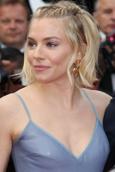 Sienna Miller With French plaits