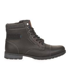 ΑΝΔΡΙΚΑ ΜΠΟΤΑΚΙΑ ΟΡΕΙΒΑΤΙΚΑ SPROX (BLACK) High Tops, High Top Sneakers, Winter, Men, Shoes, Black, Fashion, Moda, Zapatos