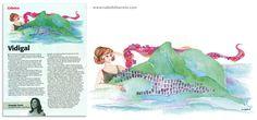 VIDIGAL. Ilustração para a crônica da Fernanda Torres na revista Veja Rio.