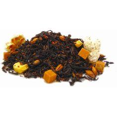 Caramel Popcorn #caramel #popcorn #black #tea