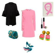 """Believe in pink"" by francystyling78 on Polyvore featuring moda, MSGM, Gucci, Lancôme, Chanel e Paper London"
