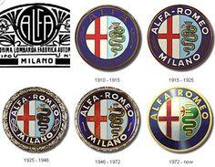 "Fast Facts: Alfa Romeo celebrated the ""Alfa Century"" on June 24 100 years of fast macchina! In 2014 Alfa Romeo returned to the United States where Alfa's had been absent from dealer. Carros Alfa Romeo, Alfa Romeo Logo, Alfa Romeo Spider, Alfa Romeo Cars, Car Badges, Car Logos, Auto Logos, Logo Garage, Counting Cars"