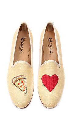 M'o Exclusive #Pizzamyheart Loafer by DEL TORO Now Available on Moda Operandi