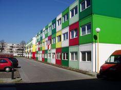 biggest container housing