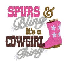 cowgirls thing