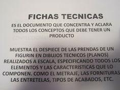 DISEÑO PARA LA INDUSTRIA DE LA MODA: FICHAS TECNICAS Y CONTROL DE CALIDAD- NORMAS DE ETIQUETA -CARTA DE COLORES