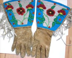 Old Time native bead work. Add more sass to my bike gear!