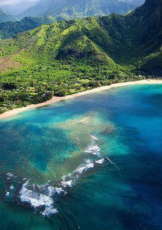 Paradise. Kauai, Hawaii,  Na Pali Coast