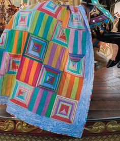 Kaffe Fassett Quilt Kits | ... kits to make many of the quilts featured in quilts in sweden here