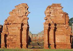 Ruinas de San Ignacio, Misiones, Argentina