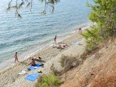 Greece, Sithonia, Elia beach