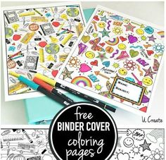 printable binder covers spines make your own home management