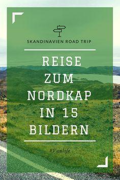 """Das erste Ziel in Norwegen ist direkt das Nordkap. Ich kann es nur bestätigen – die Fahrt zum Nordkap hat mir echt die Sprache verschlagen! Ich sitze am Steuer und sehr oft kommt mir ein """"krass!"""" oder """"irre!"""" über die Lippen, während ich kontinuierlich am grinsen bin..."""