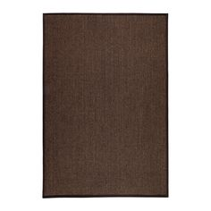 OSTED Rug, flatwoven IKEA The rug is hard-wearing and durable because it's made of sisal, a natural fiber taken from the agave plant.