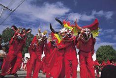 diablos danzantes San Francisco de Yare, Miranda state, Venezuela