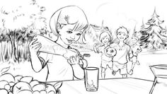 Storyboard, Gerhard, Illustrator, Layout, Anime, Art, Art Background, Page Layout, Kunst
