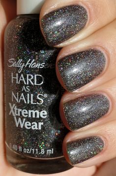 Sally Hansen - Night Lights (This is great for layering over and under other polishes! It can create loads of depth and really interesting combinations.)