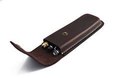Pen Case Leather Pencil Case Business Pen Case Large Design