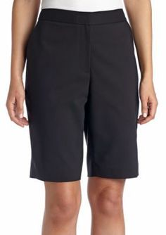 CHAUS  Solid Bermuda Short