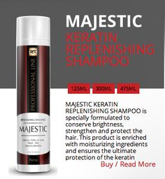 KERATIN REPLENISHING SHAMPOO  http://majestickeratin.com