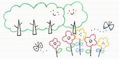8. 植物をモチーフに描いてみよう | ボールペンで描く!プチかわいいイラスト練習帳