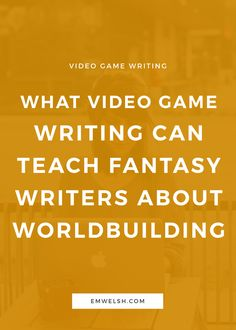 Video games have so many different things they can teach every storyteller. | video game writing | fantasy writing | worldbuilding | fantasy world building | fantasy worldbuilding | fantasy creative writing | storytelling | fantasy storytelling | fantasy video game | fantasy video game writing | video game writing worldbuilding | writing tips | fantasy novelist | fantasy writer | fantasy author