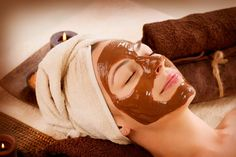 Chocolate Face Mask - 15 Homemade Facial Masks For A Variety Of Different Skin Types Facial For Oily Skin, Tips For Oily Skin, Dry Skin On Face, Oily Skin Care, Skin Care Tips, Oily Face, Skin Tips, Concealer, Chocolate Face Mask