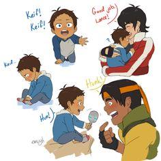 Aww, baby Lance ~