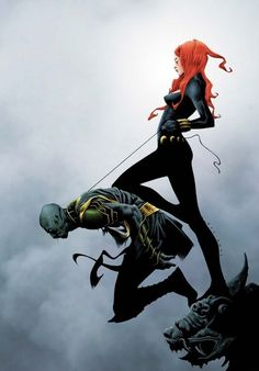 Widowmaker Cover: Black Widow Holding Another By a Rope by Jae Lee Marvel Comics Poster - 61 x 91 cm Comic Book Artists, Comic Book Characters, Comic Artist, Marvel Characters, Comic Books Art, Marvel Comics, Hq Marvel, Marvel Heroes, Natasha Romanoff