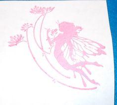 Fairy rubber stamp fairytale lady flowers flower faeries fantasy unmounted fae #AppaloosaArtStamps #Fairies