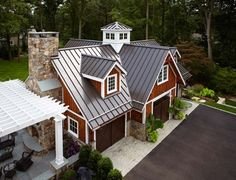 dark bronze metal roof by Firestone Building Products