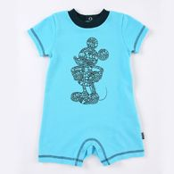 """Mickey Mouse """"Just My Type"""" Disney Cuddly Romper"""