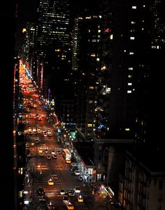 NYC at Christmas / Jon Van Gilder / available on Etsy Sale Price of New York City Christmas 3rd Avenue by jonvangilder http://t.co/dFH6nTQE3B via @Etsy