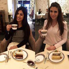 Afternoon Tea @bevangelou #afternoontea #tea #thelangham #hotel #london #girls #cakes by elenaktori