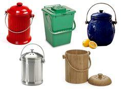 Stylish Countertop Composting Bins